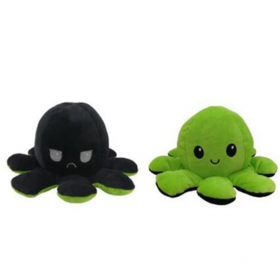 Peluche pieuvre réversible octopus