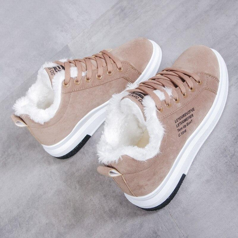 Sneakers polaire automne/hiver 2020