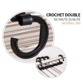 Cintre multifonctionnel - crochet hook