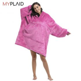 Pull couverture polaire myplaid