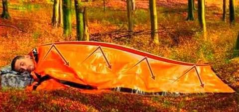 safecamp urgence sac de couchage bivouac