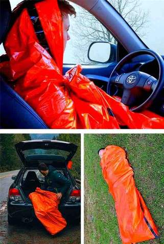 safecamp sac de couchage urgence bivouac