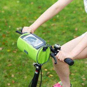 Sacoche de guidon multifonctionnel à écran Tactile - bicyclebag