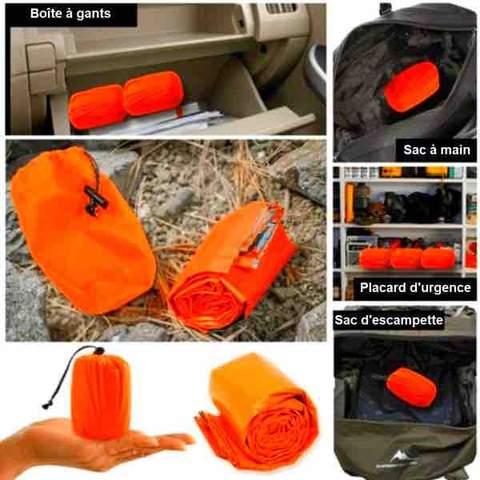 SAFECAMP sac de couchage bivouac urgence