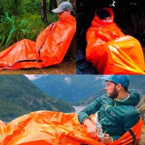 SAFECAMP bivouac sac de couchage urgence