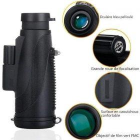 Téléscope monoculaire étanche à haute définition
