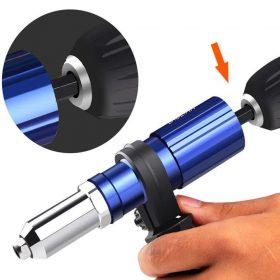 Kit d'adaptation pour pistolet à rivets professionnel - Avec 4 boulons de buse différents