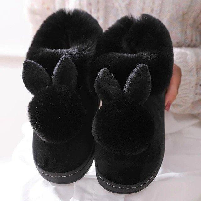 Fluffy pantoufles - huggie