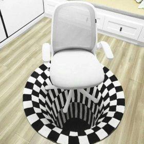 Tapis illusion 3d vortex