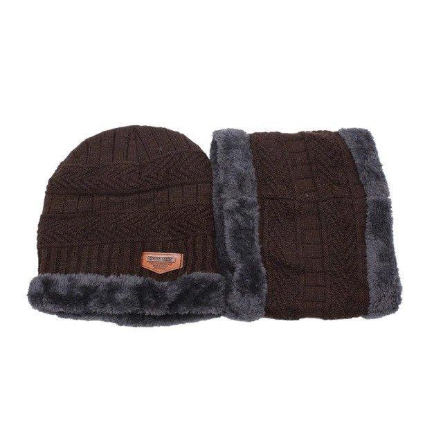 Ensemble d'hiver bonnet + écharpe homme ou femme