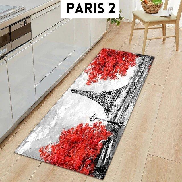 tapis cuisine devant evier antidérapant - bluebena