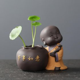 Décoration en céramique - statue de bouddha