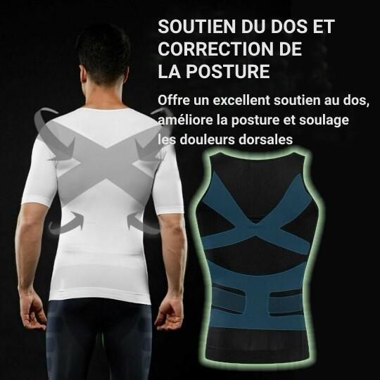 Tee-shirt de compression pour hommes