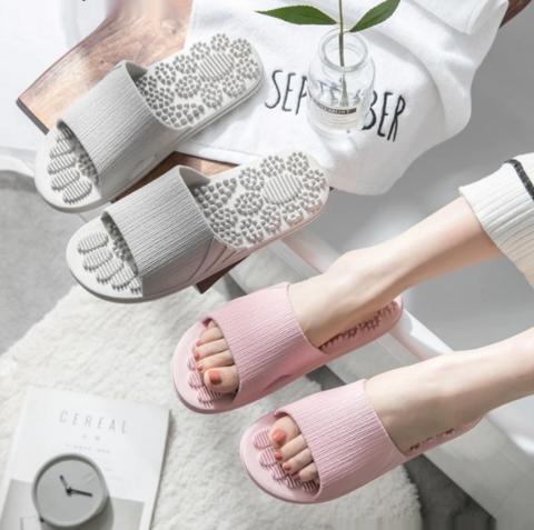 Sandales de réflexologie pour circulation sanguine