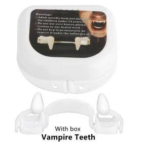 Crocs de vampire d'halloween rétractables