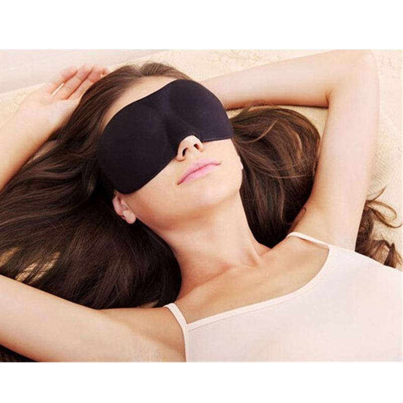 Masque yeux de nuit pour un meilleur sommeil