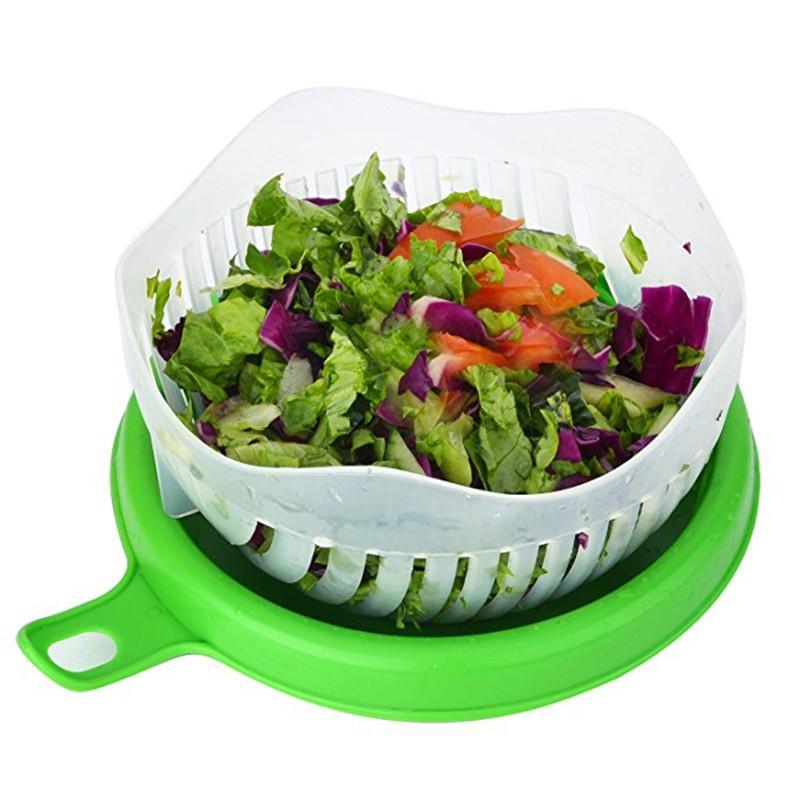 coupe legume avec salade coupé - shopibest