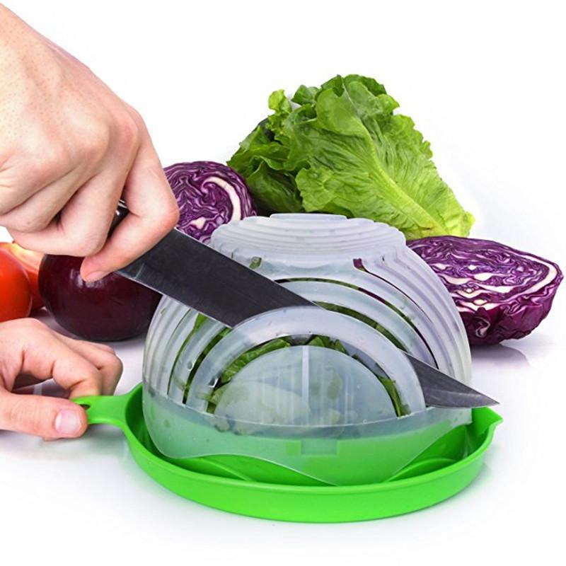coupe legume avec salade couteau - shopibest