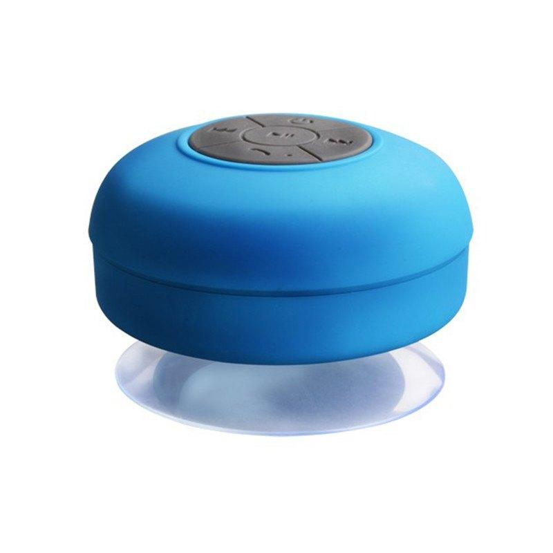 enceinte bluetooth waterproof bleu - shopibest