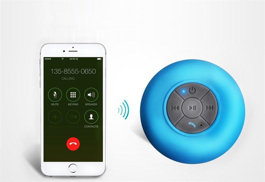 enceinte bluetooth waterproof smartphone - shopibest