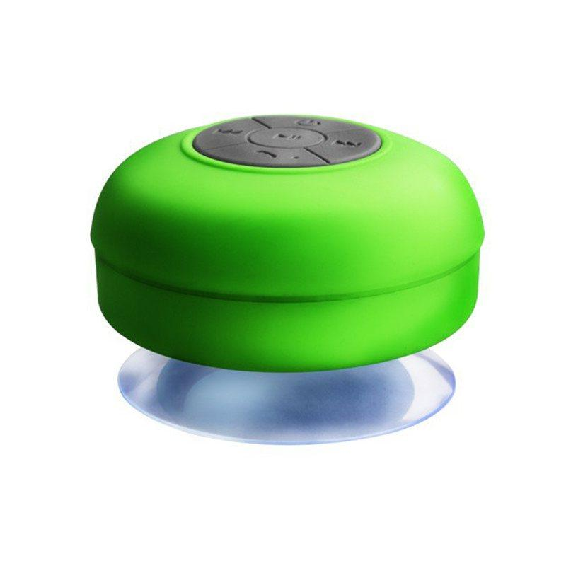 enceinte bluetooth waterproof vert - shopibest