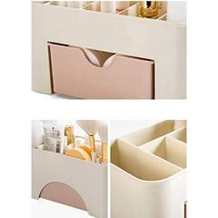 mainlinebox - organiseur Rangement Maquillage Tiroir en Plastique pour Cosmetiques pour Salle de Bain Bureau Boite de rangement - shopibest